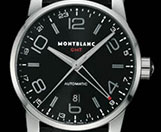 fake Montblanc TimeWalker TwinFly Black Titanium Chronograph watch